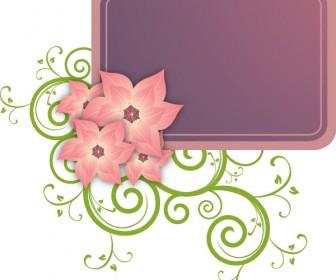 Floral & Flower Label