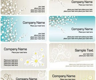 8 Business Card Templates