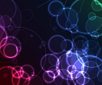 Abstract Bubble Light Background