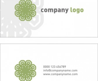 Company Logo Business Card