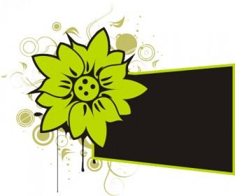 Autumn Flower Banner