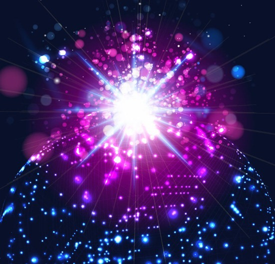 abstract glowing light background free vector art