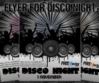 Flyer Disco Night
