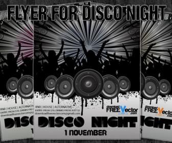 Flyer Disco Night