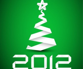 Paper Stripe Christmas Tree
