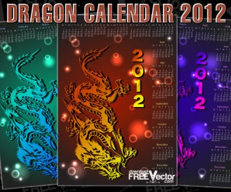 Dragon Calendar 2012 Year