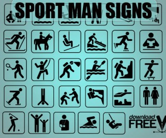 Sport Signs Icon Set
