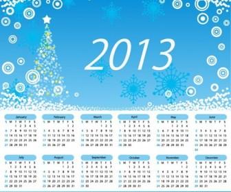 2013 Calendar Merry Christmas