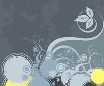 Swirly Explosion Frame Decoration