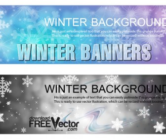Winter Banners Templates