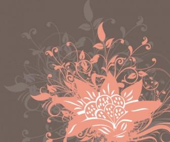 Flower Floral Darkswirly Love