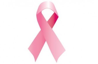 Pink Ribbon Vector Icon Vector Graphics