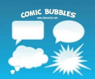 Comic Bubble Vectors Vector Art