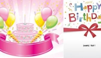 Happy Birthday Vector Vector Art