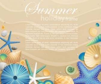 Beautiful Cartoon Ocean Background 03 Vector Background Vector Art