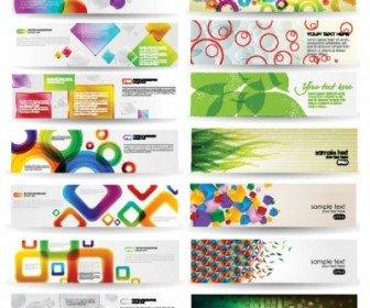 Dynamic Colorful Banner Vector Vector Banner