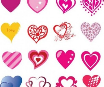 16 Free Heart Shaped Vectors For Valentine's Day Heart Vector Art
