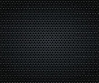 Grey Real Carbon Fiber Background Vector Graphic Background Vector Art