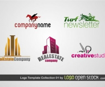 Logo Template Collection Vector Art