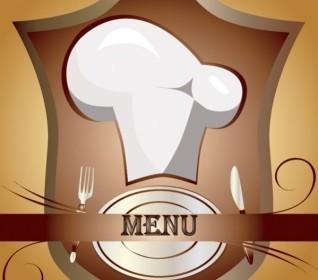 Cutlery Chef Hat Vector Vector Art