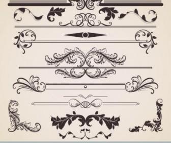 European Classic Lace Pattern 02 Vector Pattern Vector Art