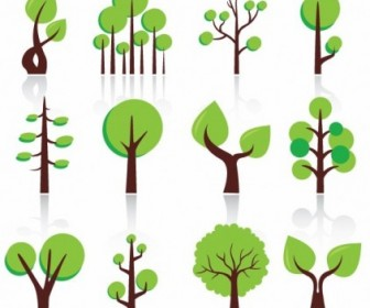 Free Vector Abstract Trees Abstract Vector Graphics