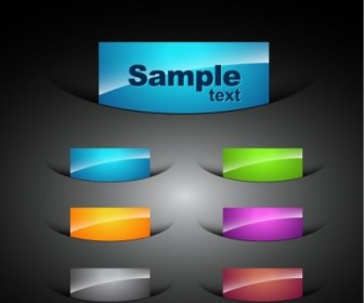 Web Colored Elements For Web Designer Vector Graphic Web Design Vector Graphics