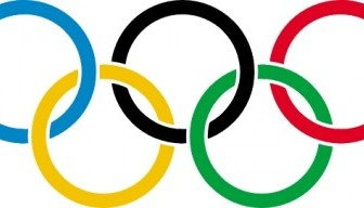 Olympic Rings Clip Art Vector Clip Art
