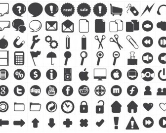120 Free New Icons Icon Vector Graphics