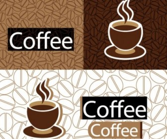 Coffee Theme Vector Vector Art