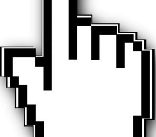 Cursor Hand Clip Art Vector Clip Art
