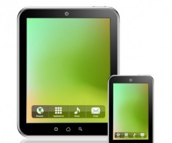 Tablet PC Vector Vector Art