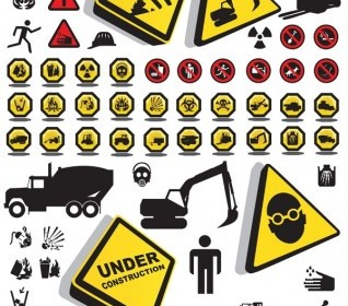 Construction Please Note That Security Icon Vector Icon Vector Graphics