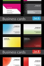 Business Card Background Vector Background Vector Art