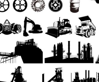 Industrial Equipment Free Vector Graphics Vector Art