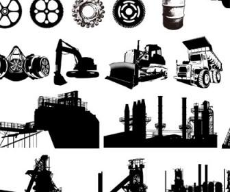 Industrial Equipment Free Vector Graphics Vector Art