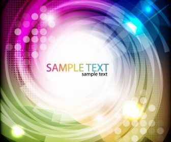 Abstract Colored Swirl Vector Background Abstract Vector Graphics