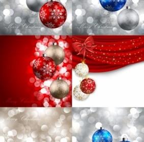 Beautiful Christmas Ball 11 Vector Christmas Vector Graphics