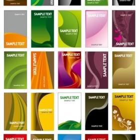 Card Background Vector Set Of Useful Background Vector Art