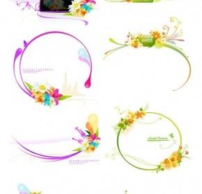 Decorative Flower Pattern Vector Fashion Flower Vector Art