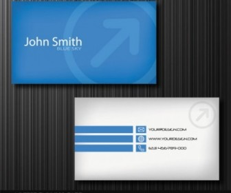Exquisite Business Cards 01 Vector Vector Art