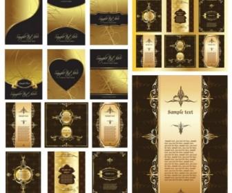 European Gorgeous Layout Design Pattern Vector Pattern Vector Art