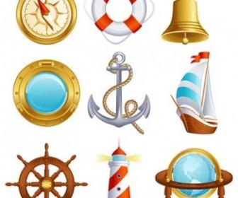 Sailing Small Icon 02 Vector Icon Vector Graphics