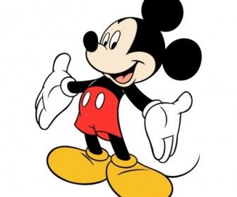 Mickey Mouse 2 Logo Vector Art