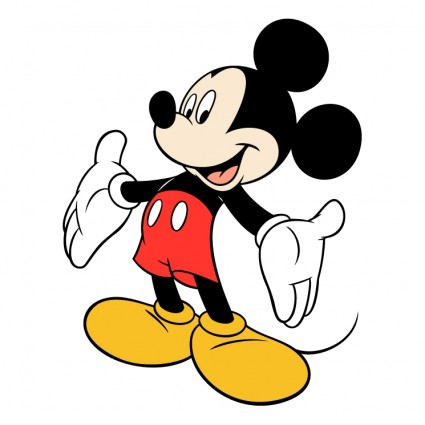 Mickey Mouse 2 Logo Vector Art - Ai, Svg, Eps Vector Free Download