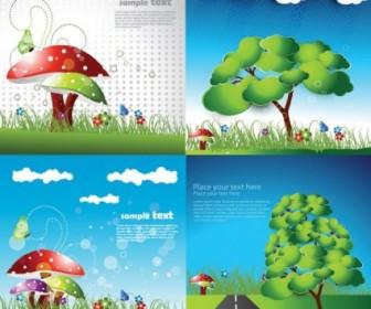 Cute Cartoon Children Vector Cartoon Vector Art