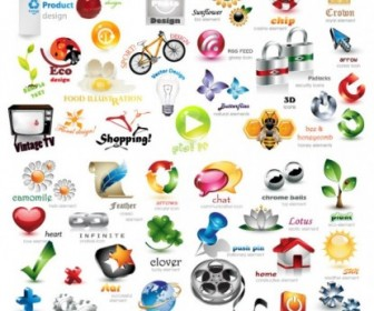 Exquisite Collection Of Threedimensional Icon Vector Icon Vector Graphics
