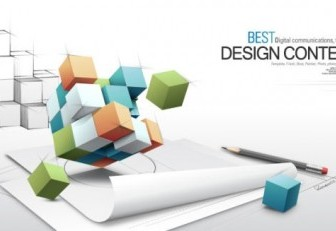 3d Fashion Design Business Vector Background Of The Concept Of Text 1 Background Vector Art