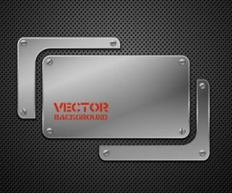 Metal Background 02 Vector Background Vector Art