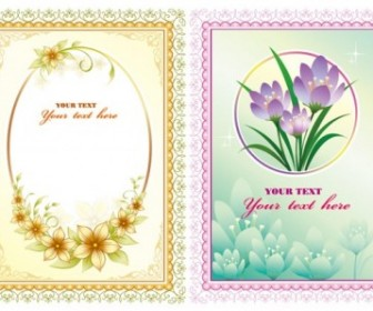 Beautiful Lace Flowers Vector Flower Vector Art